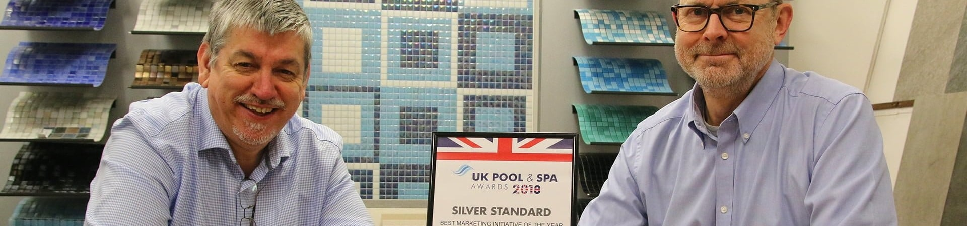 Client wins best marketing initiative at the Pool and Spa Awards